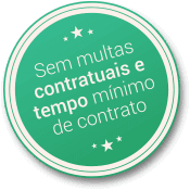 Sem multas contratuais e tempo mínimo de contrato